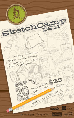 Sketch Camp Poster